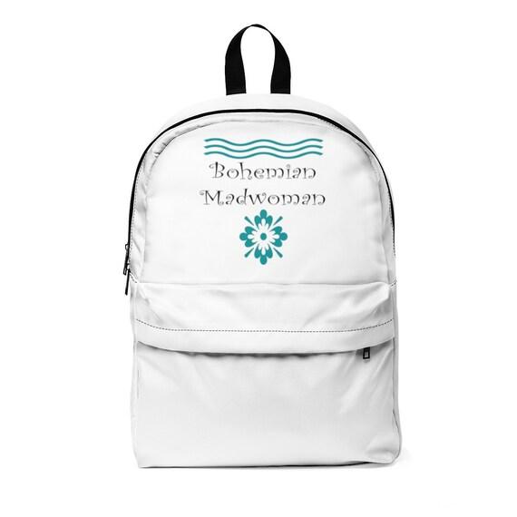 Bohemian Madwoman Unisex Classic Backpack