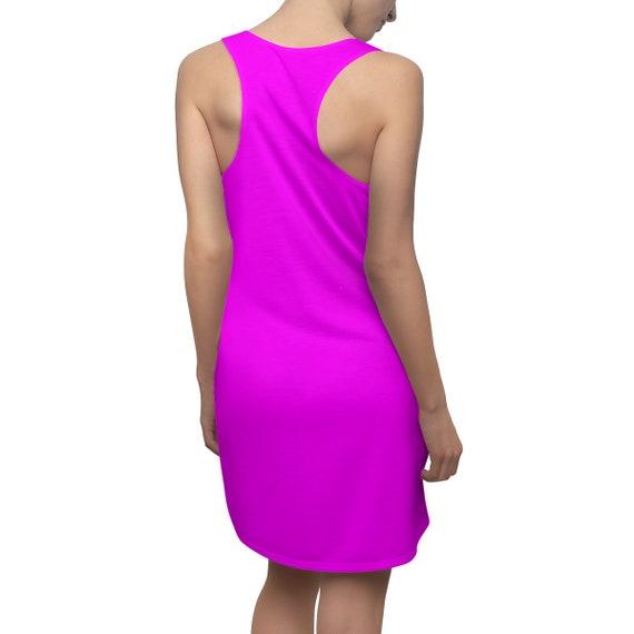 Magenta (Fuchsia) Racerback Dress