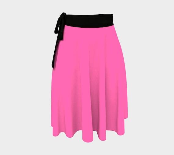 Hot Pink Wrap Skirt