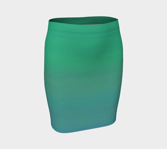 Ocean Breeze Fitted Skirt