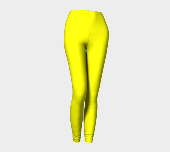 Bohemian Madwoman Yellow Leggings