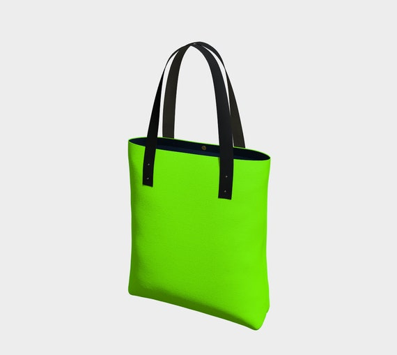 Chartreuse Tote
