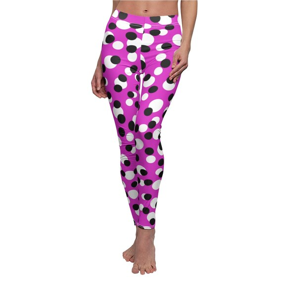 Just Crazy Dots Skinny Casual Leggings