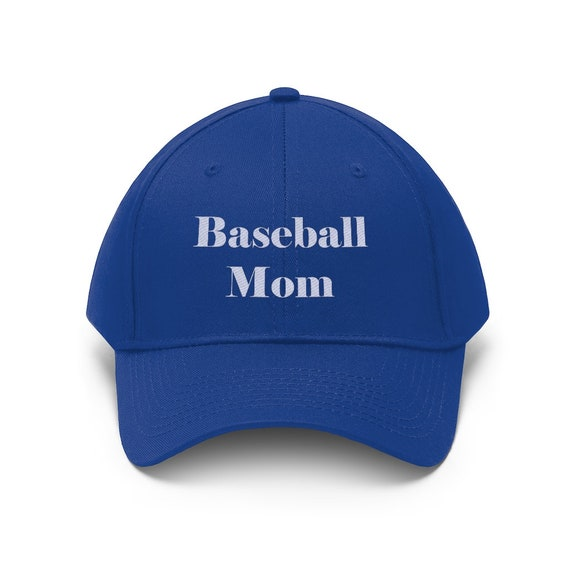 Embroidered Baseball Mom Unisex Twill Hat
