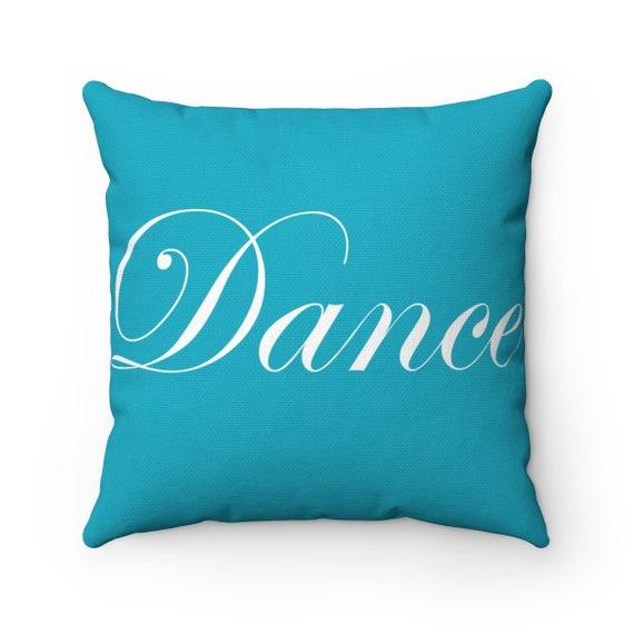 Dance Spun Polyester Square Pillow