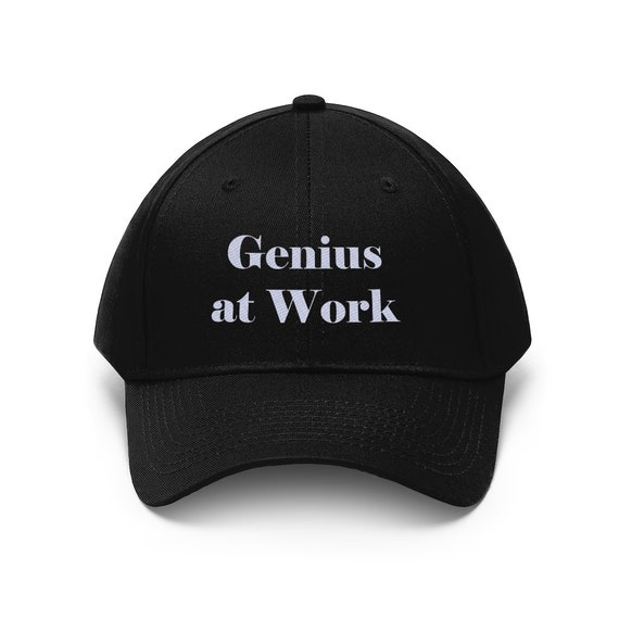 Genius at Work Unisex Twill Hat