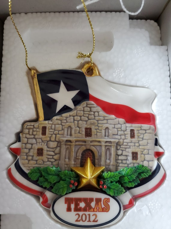 2012 Texas Danbury Mint Collectible Ornament