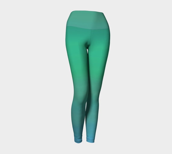 Ocean Breeze Yoga Leggings