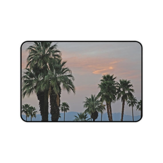 Palm Desert Sunset Desk Mat