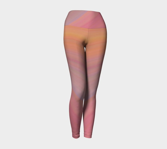 Just Peachy Yoga Leggings
