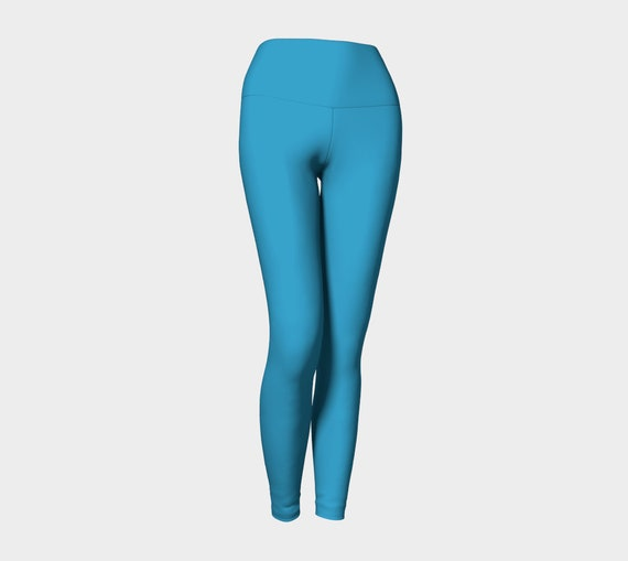 Peacock Yoga Leggings