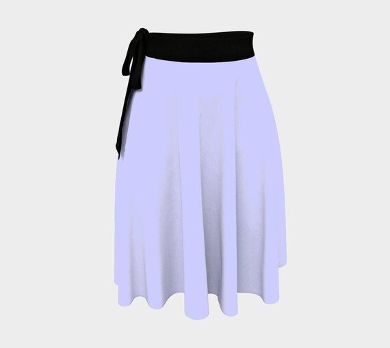 Periwinkle Wrap Skirt