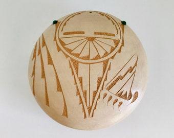 Patricia Daubs Hand Carved Pottery Jemez Pueblo Southwest Native American Indian