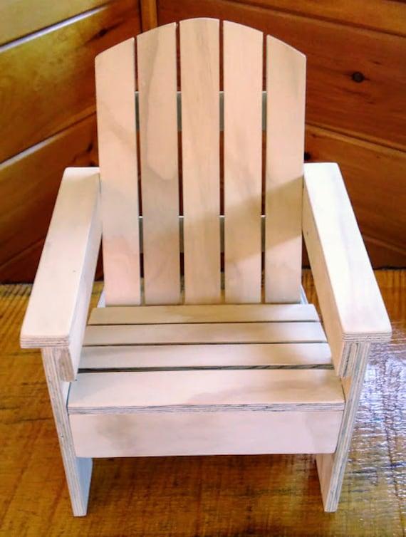 Chaise dadirondack fait main pour poup e de 18 pouces - Chaise adirondack france ...