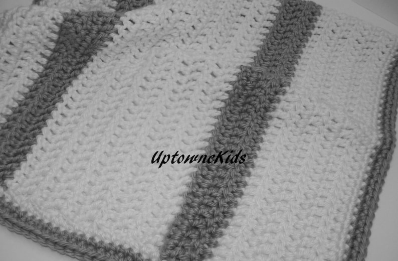 White /& Aqua READY to SHIP Crochet Baby Girl Blanket Set Crib Size Available Baby Shower Gift Large Baby Travel Blanket Chunky Blanket