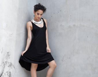 Black Summer Dress - Black Mini Dress - Black Summer Dress - Black Dress - LBD - Little Black Dress