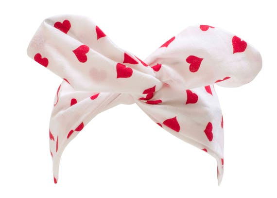 9d516155ea Valentine s Day Headband Queen of Hearts Red Heart Wire