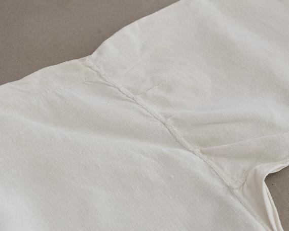 Antique large linen shirt, Artist smock for paint… - image 9