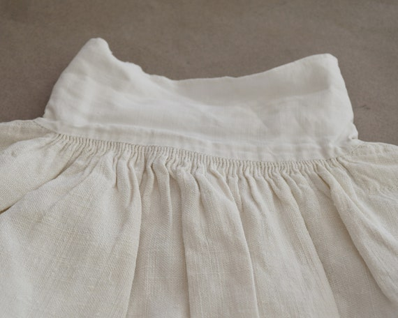 Antique large linen shirt, Artist smock for paint… - image 6