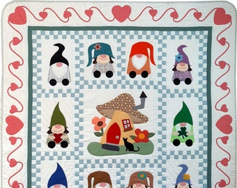 Gnome Home Quilt Pattern