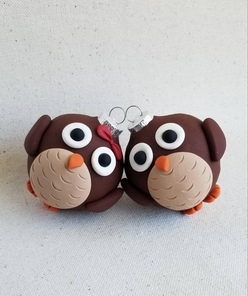Owl Christmas Ornaments Etsy