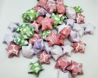 50 Reach for the Stars Origami Wishing Stars READY TO SHIP