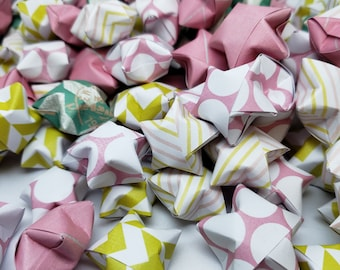 100 Reach for the Stars Origami Wishing Stars READY TO SHIP