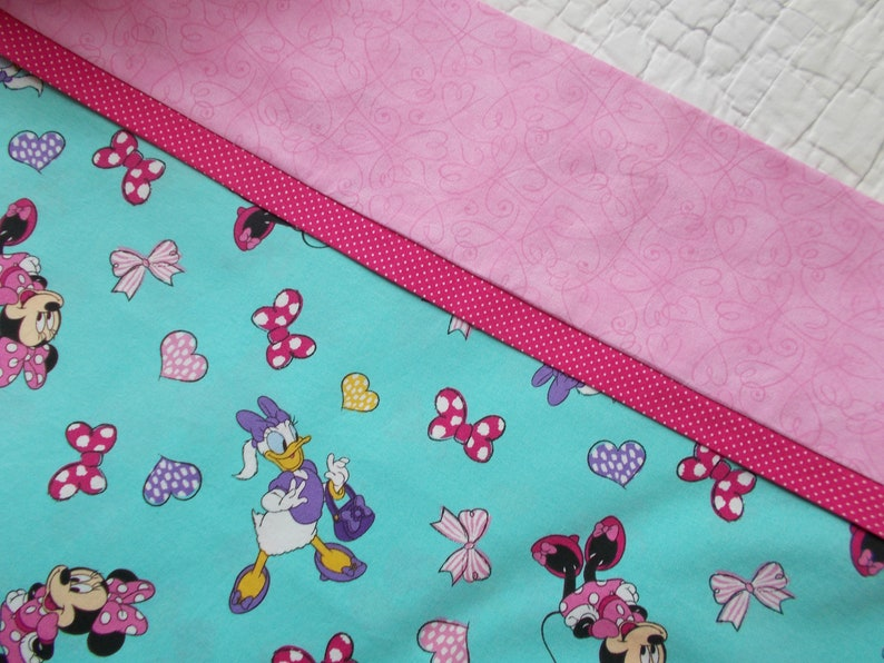 Minnie Mouse And Daisy Duck Full Size Pillow Case Etsy