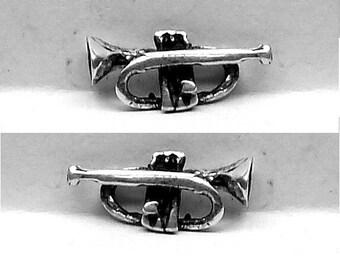 CORONET STUD Earrings  Sterling Silver Free Shipping