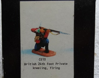 British Infantry Soldier Hinchliffe CS10 54mm scale British Empire 24th Regiment of Foot South Wales Rorke's Drift Zulu War South Africa