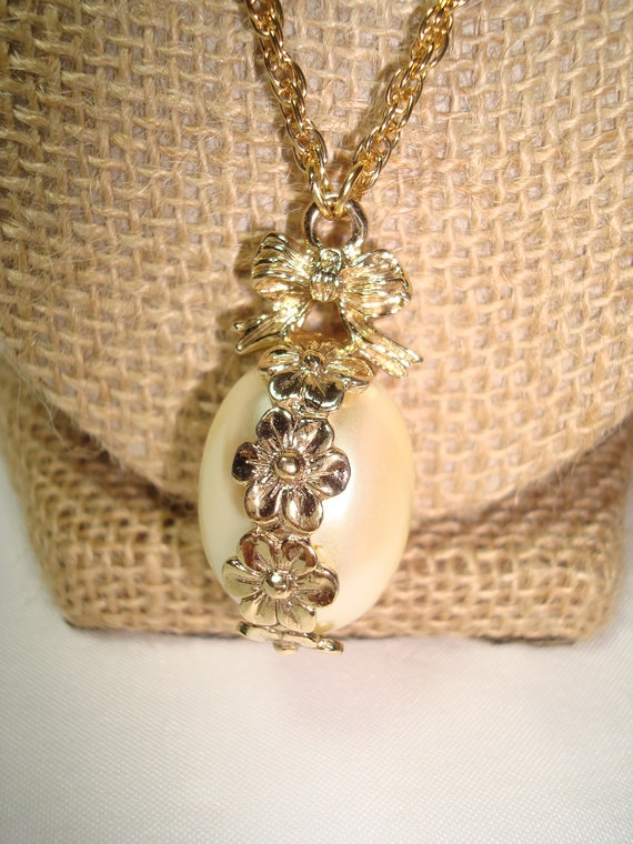 1928 brand pearl necklace