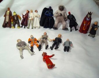 1998 Star Wars Hasbro Kenner Action Figures.