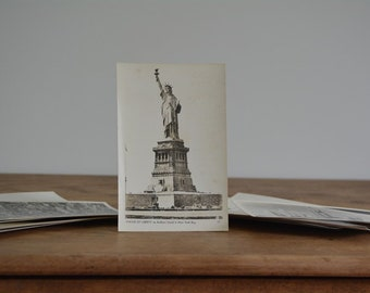 Vintage Alfred Mainzer Black and White New York City Postcards | Alfred Mainzer Postcards | New York City Postcards | Vintage New York