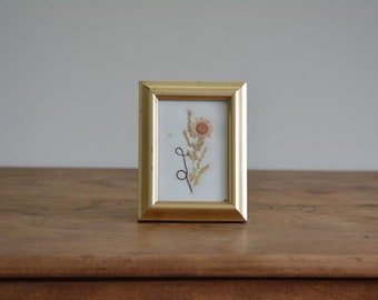 Vintage Pressed Flower Art | Boho Wall Art | Vintage Pressed Flowers | Framed Dried Flowers | Boho Floral | Pressed Flowers & Leaves