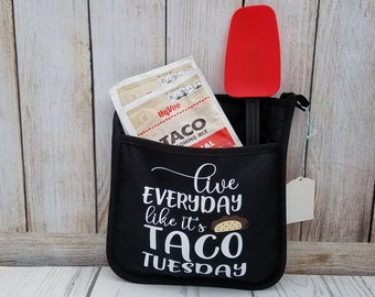 Taco Tuesday, Pot Holder, Oven Mit, Personalized Oven Mit, Taco Tuesday, Fun gift or for yourself