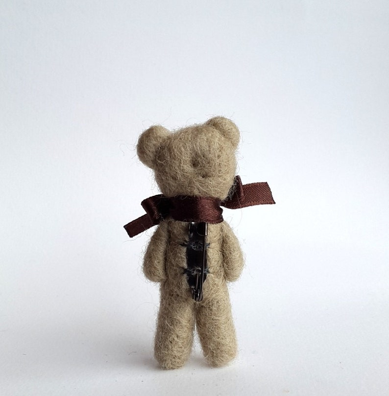 Brooch Wearing Regalo Bear perEtsy Teddy Jewelry Filled di Pasqua CerBoWQExd