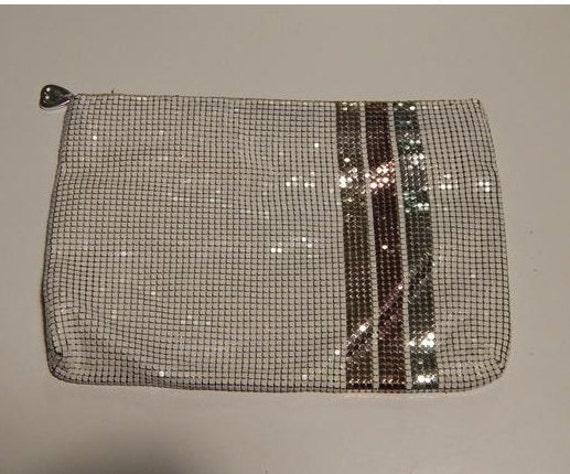 1980s Whiting and Davis Mesh Clutch Evening Bag