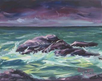 Original Acrylic Seascape
