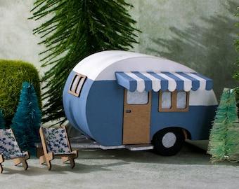 Teardrop Miniature camper kit - DIY - You build it