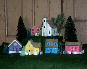 Putz house kit - DIY - build 6 houses -pre-cut