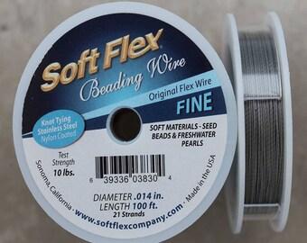 3d8193e9d99e Soft Flex Satin Silver Fine Wire