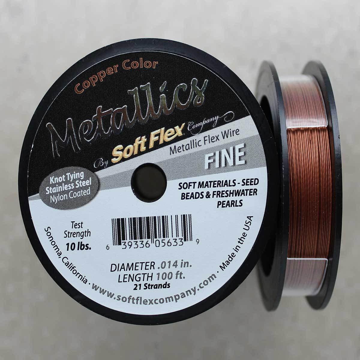 70faaf9f8612 Soft Flex Copper Fine Wire 100 Foot Spool