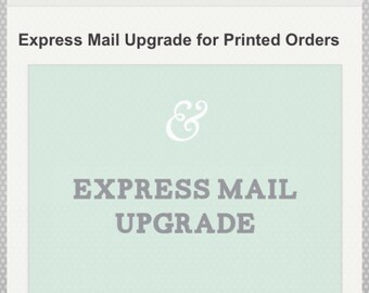 Upgrade for express shipping