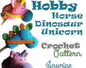 Hobby Horse Unicorn Crochet Pattern