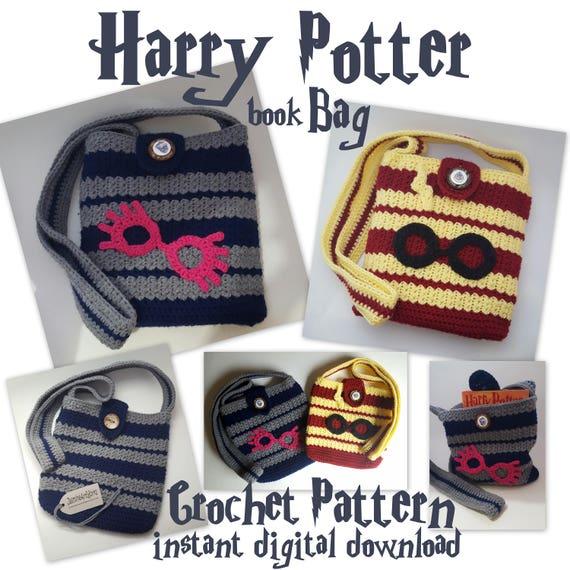 Harry Potter Crochet Bag Etsy