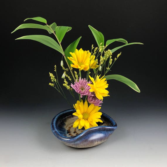 Ikebana Vase Flower Tray Flower Dish Flower Bowl With Etsy