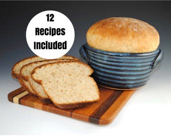 Bread Baker - Bread Baking Pot - 12 Recipes Included- Featured in Midwest Living Magazine - Casserole Dish - In Stock & Ready to Ship