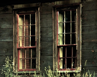 Old Windows, Old Houses, Rustic, Country Life, Antique Houses, Window Photography,
