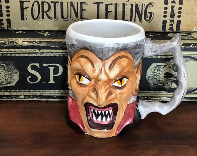 Vampire Mug Sawley Romania Count Dracula Halloween