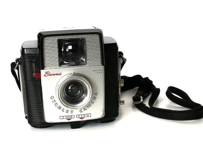 Brownie Starlet Camera Vintage Atomic Age Kodak Mid Century Plastic Retro